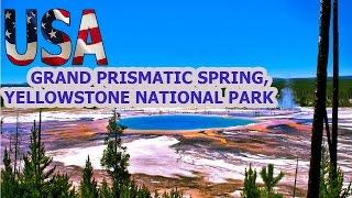 USA TODAY LIFE ♥ Grand Prismatic Spring, Yellowstone National Park, USA