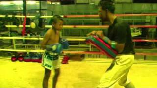 Game Wan Chorenrit 9yr Old Thai Fighter