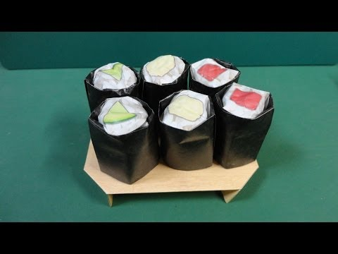 Food Tutorial - 012 -- Rolled Sushi