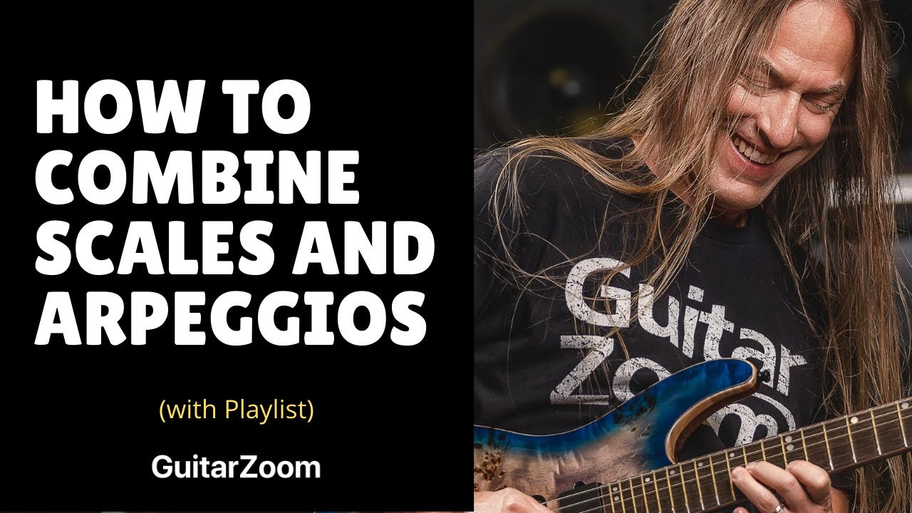 Play Better Guitar Solos – Learn to Combine Scales and Arpeggios – Steve Stine Guitar Lesson