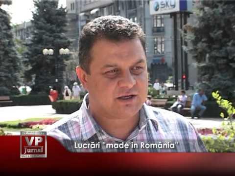 """Lucrări """"made in România"""""""
