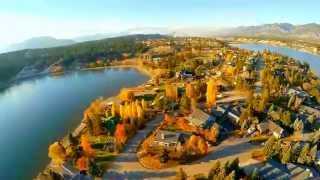 Invermere (BC) Canada  city images : Drone of Fort Point home in Invermere BC