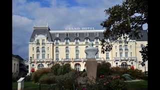 Cabourg France  city photo : Visiting beach town Cabourg in France. October 2014