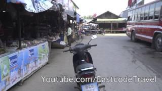 Chiang Khong (Chiang Rai) Thailand  City new picture : Chiang Khong market and bus to Chiang Rai
