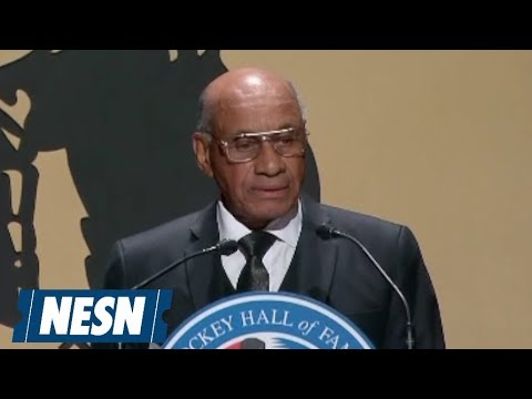 Video: Willie O'Ree Continues Legacy In Hockey Hall Of Fame Class Of 2018