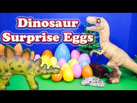 dinosaur - I have always loved learning about Dinosaurs. In this YouTube Surprise Egg Video we open 20 dinosaur surprise eggs! While we do not open any Kinder Surprise ...