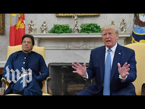 Watch: Trump Speaks To Reporters During Meeting With Pakistan's Leader Imran Khan