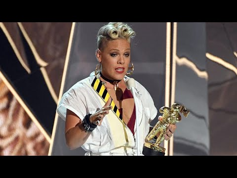 Pink Delivers Heartbreaking Yet Empowering Speech About Daughter Willow at VMAs -- Watch!