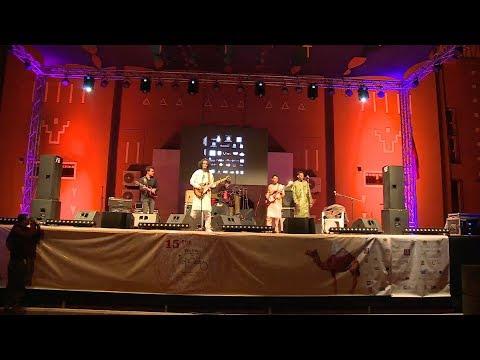 إيقاعات وأنماط موسيقية متنوعة تمتزج فوق منصة المهرجان الدولي للرحل بمحاميد الغزلان