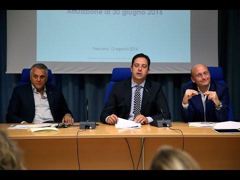 Fondi europei Par-Fsc: in Abruzzo spesi i 590 milioni VIDEO