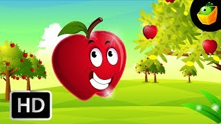 If I were an Apple - English Nursery Rhymes - Animated/Cartoon Songs For Kids