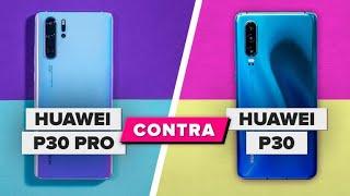 Huawei P30 vs. P30 Pro: muchas diferencias que sí importan