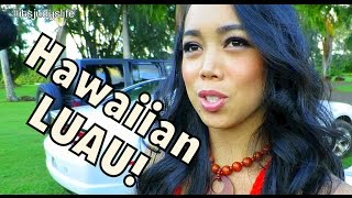 HAWAIIAN LUAU! - October 10, 2014 - itsJudysLife Daily Vlog
