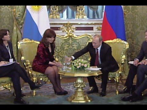 Владимир Путин помог президенту Аргентины