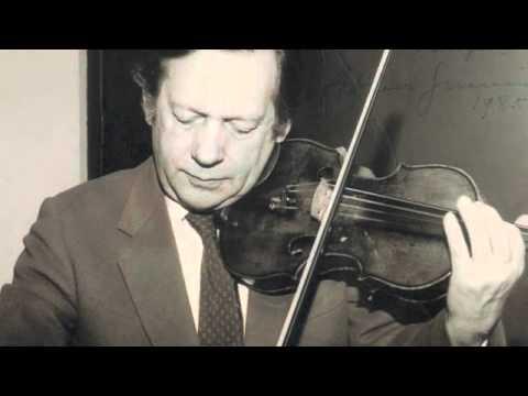 Arthur Grumiaux - Vecsey - Valse Triste