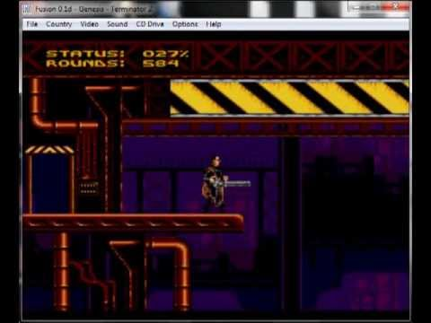 The Terminator 2 – Judgement Day – Mega Drive / Genesis Longplay