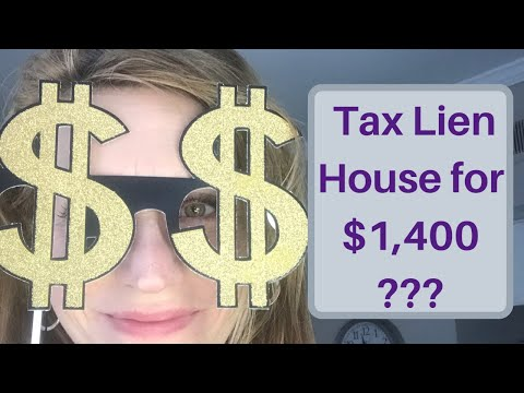Tax Lien Foreclosure Property I bought for only $1.4K No Joke