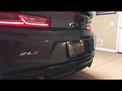 2018 ZL1 in a custom Garage Gallery ! AMAZING !