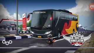 Game Bus Simulator Indonesia - Barito BUS Pariwisata... mosak masik dari solo ke Surabaya