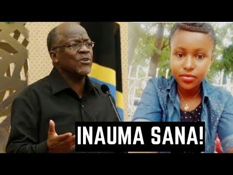 GLOBAL HABARI: Rais Magufuli Amlilia Mwanafunzi 'Akwilina'