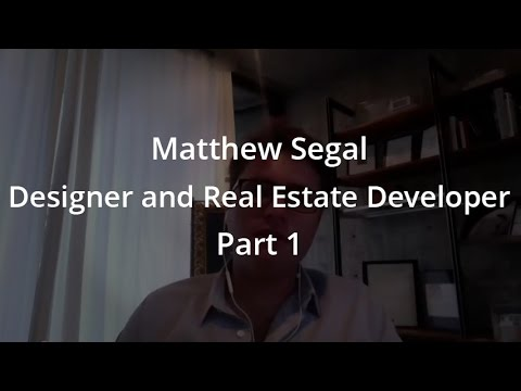 Podcast Interview Matthew Segal