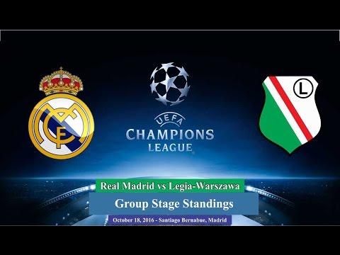 Real Madrid vs Legia Warszawa 5-1 All Goals & Highlights 18/10/2016 | Cuplikan Gol UCL 2016/2017