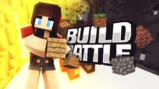 Minecraft Build Battle 'CUTE BURGER' w/ Yammy