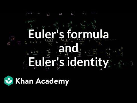 Euler's formula and Euler's identity « Econstudentlog
