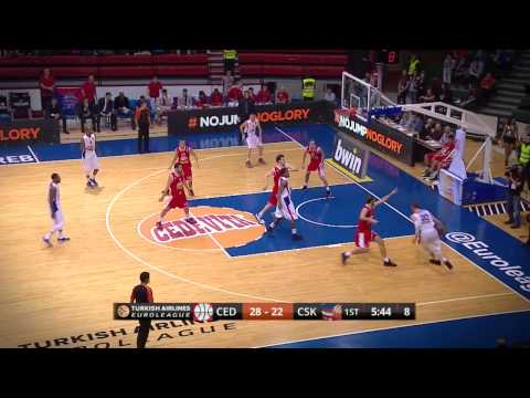 Dunk of the Night: Andrey Vorontsevich, CSKA Moscow