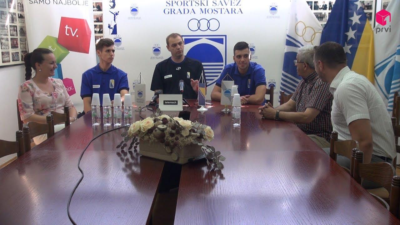 Press konferencija juniorske košarkaške reprezentacije BiH