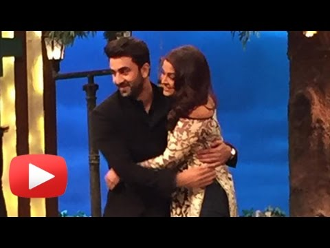 Aishwarya Rai Ranbir Kapoor Share FIRST HUG Off Sc