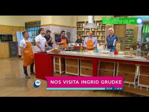 Ingrid Grudke en Cocineros Argentinos