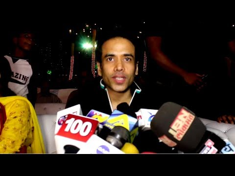 Tusshar Kapoor Attends Childrens Welfare Centre High Schools 37th Annual Day Celebrations