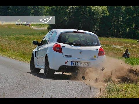 2. Runda Tarmac Masters 2018 - Marcin Pogorzelski / Agnieszka Załęcka - Renault Clio 3 RS