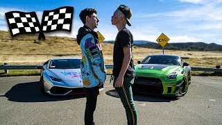 Video LAMBORGHINI VS GUACZILLA 2.0 RACE ($50,000 REMATCH VS TANNER FOX) MP3, 3GP, MP4, WEBM, AVI, FLV November 2018