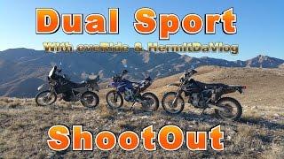7. Dual Sport Shootout pt.1 - KLR650 DRZ400S WR250R