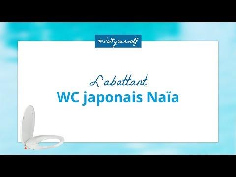 Tutoriel - Installer l'abattant WC japonais Naïa
