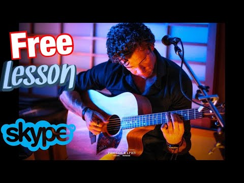 One on One Skype Lesson with MarkTheGuitarGuy