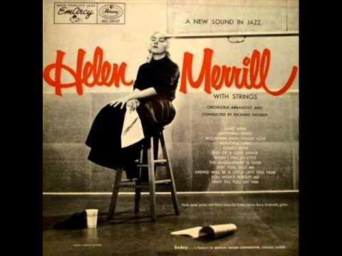 Tekst piosenki Helen Merrill - (I'm Afraid) The Masquerade Is Over po polsku