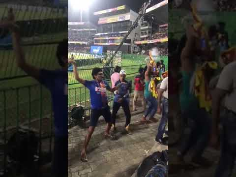 Srilanka fans after India vs Bangladesh final match