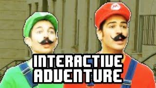 Super Mario Interactive Adventure Game!