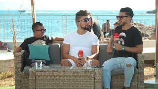المنتج عادل ايبيزا و الكوميدي رضوان كوبرا في برنامج صيف البلاد