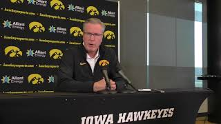 Video Fran McCaffery Talks College Hoops FBI Investigation MP3, 3GP, MP4, WEBM, AVI, FLV Oktober 2017