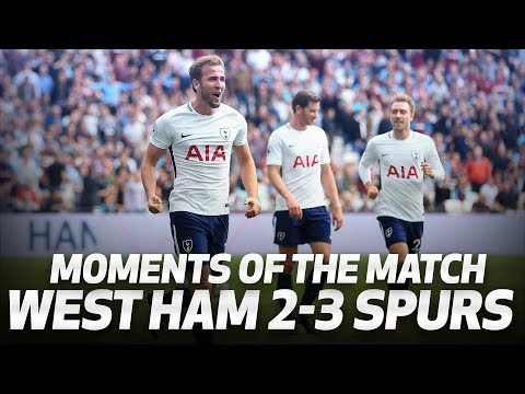 Video: MOMENTS OF THE MATCH: West Ham 2-3 Spurs