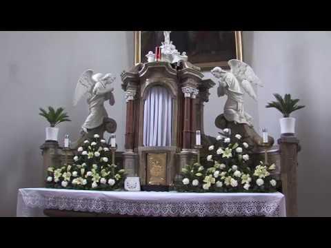 Kunovice - Oprava oltáře