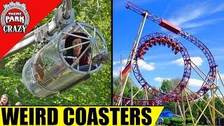 Video 10 WEIRD and Unusual Roller Coasters MP3, 3GP, MP4, WEBM, AVI, FLV Juli 2018