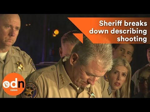California Sheriff breaks down describing shooting