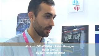 Exclusive Interview With Mr. Loic de MOURA, Sales Manager - Barat Group