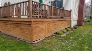 Ridge deck