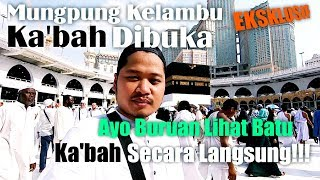 Video Allahu Akbar! Melihat Batu Ka'bah & Calon Jamaah Haji Indonesia Di Masjidil Haram 9 Agustus 2019 MP3, 3GP, MP4, WEBM, AVI, FLV Agustus 2019